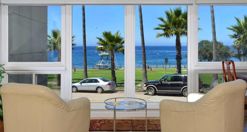 New Listing at the La Jolla Coast!  Spectacular front facing Ocean view 2 Br 2Ba. Offered at $1,549,000-